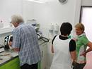 Kurs im Labor Mei�ner, Otterberg 12.7.2013